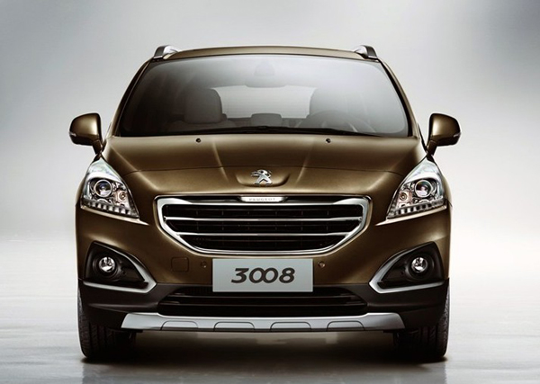 Обновленный Peugeot 3008 дебютирует в Гуанчжоу
