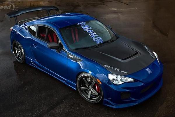 Scion FR-S в тюнинге Vivid Racing