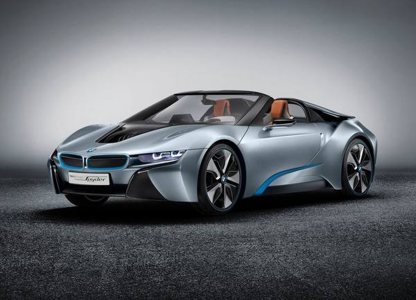 Премьера родстера BMW i8 пройдет в Лос-Анджелесе