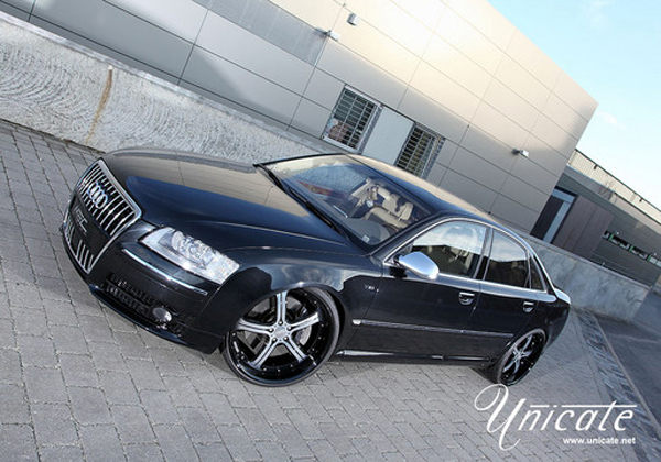 Unicate Germany обновил Audi S8 D3