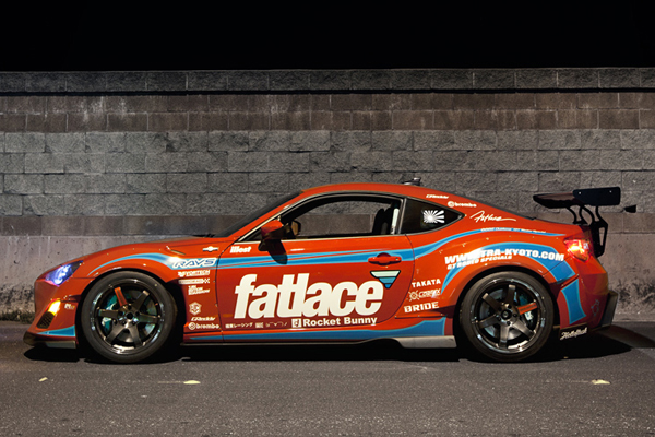 Scion FR-S от Fatlace X