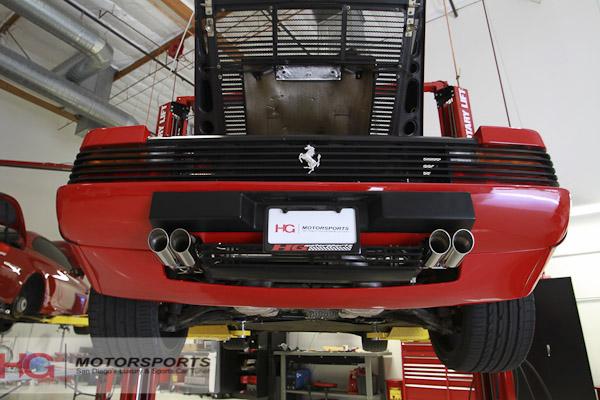 Ferrari Testarossa Resto Mod от HG Motorsports