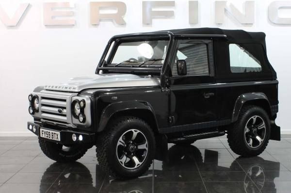Land Rover Defender 90 SVX в тюнинге Overfinch