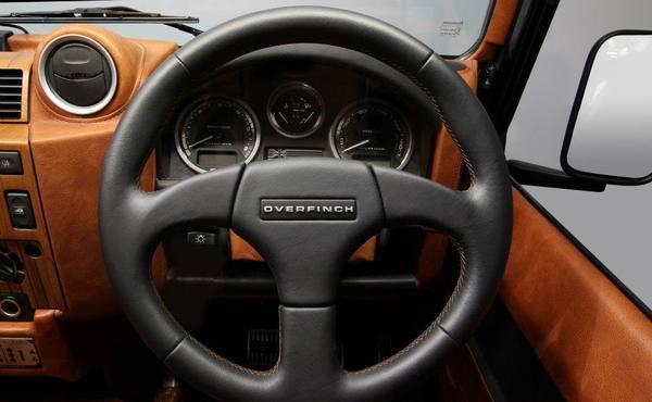 Land Rover Defender 90 SVX в тюнинге Overfinch