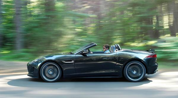 Jaguar привезет в Лос-Анджелес F-Type Black Pack