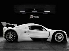 Composite построил 7,0-литровый суперкар Extrema
