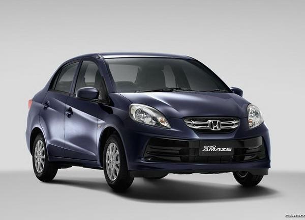 Honda выпустила бюджетный Brio Amaze для Азии