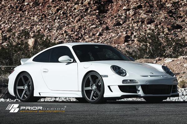 Porsche 911 (997) в исполнении EVS Motors