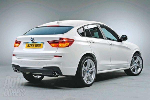 Дебют BMW X4 состоится на автосалоне в Детройте