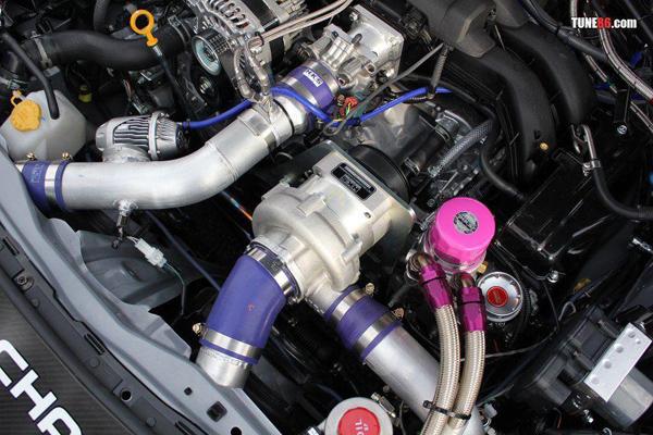 HKS создал пакет наддува для Toyota GT86