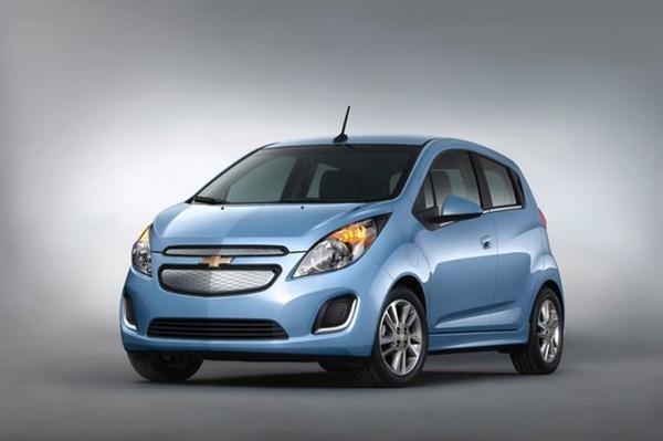 Chevrolet представил электромобиль Spark EV 2014