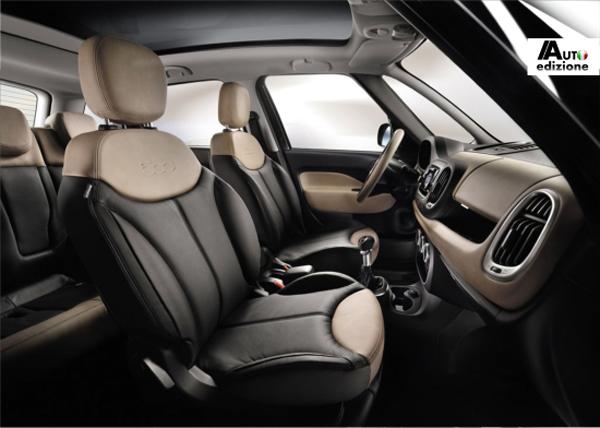 Panoramic Edition - новая топовая версия FIAT 500L