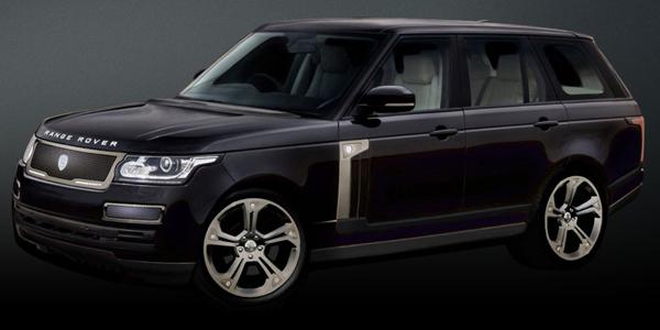 Strut подготовил пакет аксессуаров для Range Rover