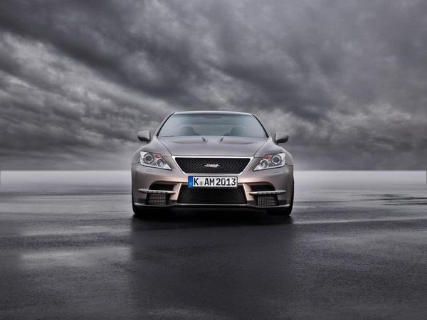 Новые фото и данные о Lexus LS 650 от TMG