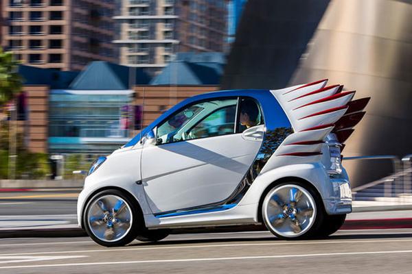В Лос-Анджелесе покажут Smart Fortwo Forjeremy