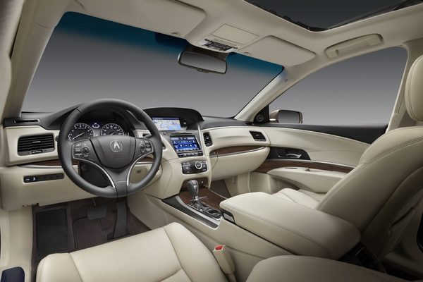В Лос-Анджелесе показали Acura RLX 2014
