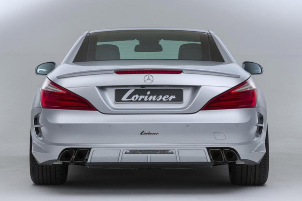 Mercedes-Benz SL500 в тюнинге Lorinser