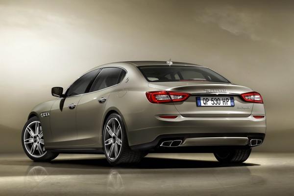 Maserati Quattroporte 2013 - свежие данные