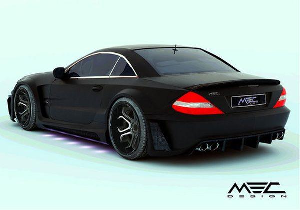 MEC обновил пакет для Mercedes-Benz SL R230