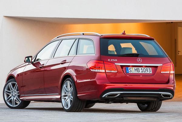 Стала известна гамма моторов Mercedes E-Class 2014