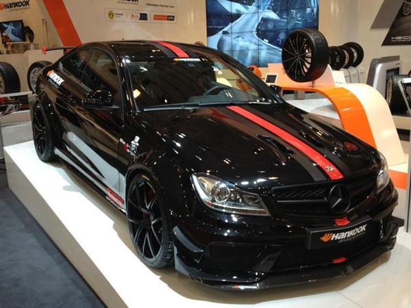 Mercedes-Benz C63 AMG Black Baron от TIKT