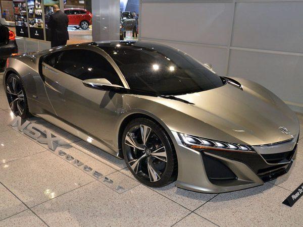 Новые данные о будущем супер-каре Acura NSX