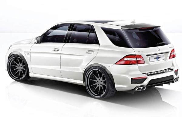 RevoZport доработал Mercedes-Benz ML63 AMG