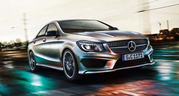 Первые официальные фото Mercedes-Benz CLA