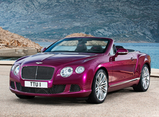 Bentley Continental GTC Speed Cabrio - первые фото