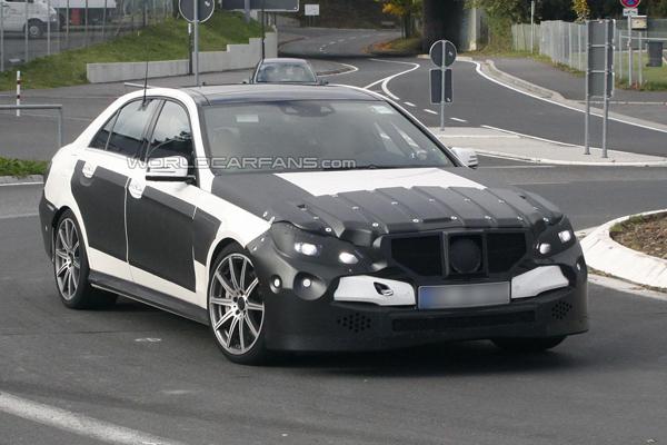 Mercedes E63 AMG 2014 получит еще 25 лошадей