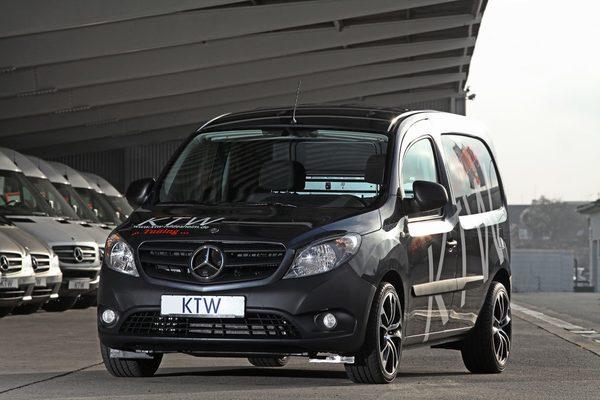 Mercedes-Benz Citan от KTW Tuning
