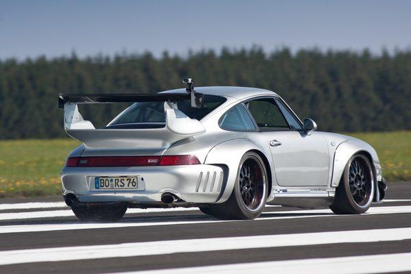 тюнинг автомобиля porsche 911 gt2