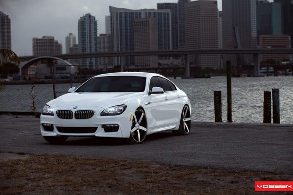 BMW 6-Series Gran Coupe в тюнинге Vossen