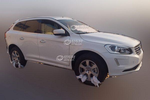 В сеть попали первые изображения Volvo XC60 2014
