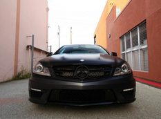 Mercedes-Benz C63 AMG Coupe от Mode Carbon