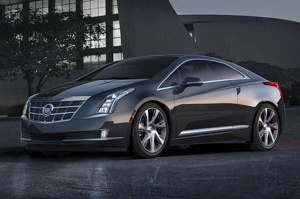Cadillac ELR Hybrid Coupe показали в Детройте