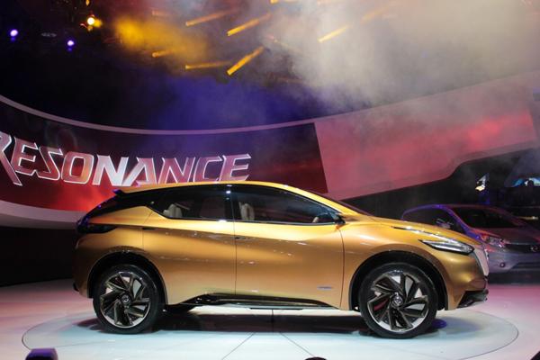 Nissan Resonance - предвестник нового Murano