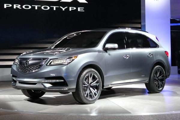 В Детройте дебютировал Acura MDX Concept