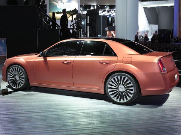 В Детройте показали Chrysler 300S Turbine Edition