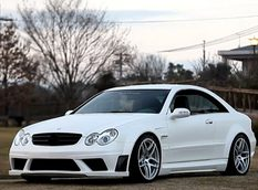 Mercedes-Benz CLK63 AMG Black Series от RK Design