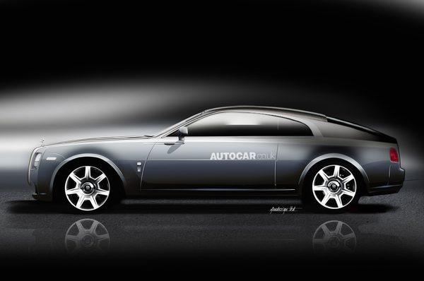 Rolls-Royce работает над новым купе – Wraith