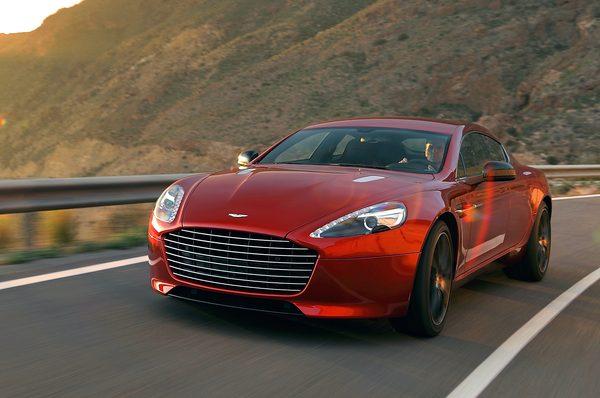 Aston Martin представил 550-сильный Rapide S