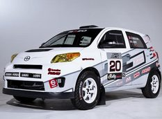 Toyota обновила болид Scion xD Rally Car