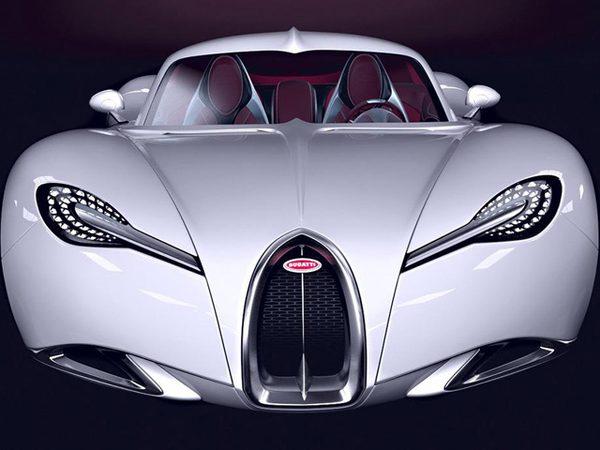 Bugatti Gangloff Concept от польского дизайнера