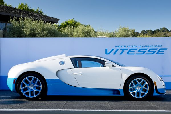 Bugatti Veyron 16.4 Vitesse дебютирует в Катаре
