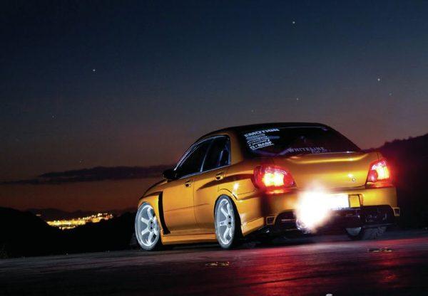608-сильная Subaru Impreza WRX 2005 из Мериленда
