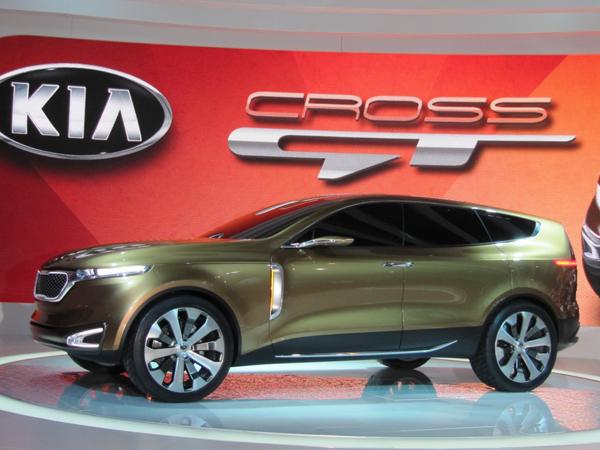 Kia Cross GT Concept оказалась гибридом