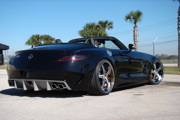 Mercedes-Benz SLS AMG Roadster от MEC Design