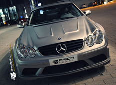 Mercedes CLK AMG Black Series от Prior Design