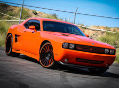 Dodge Challenger в обвесе от Forgiato Wheels